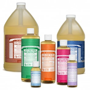 Pure Castile Liquid Soap | Dr Bronner Shampoo