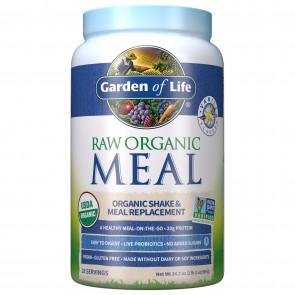 Garden of Life RAW Organic Meal Vanilla 34.2 oz 2 lb