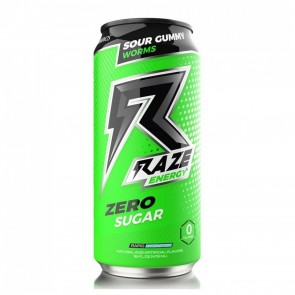 Repp Sports Raze Energy Zero Sugar Sour Gummy Worms