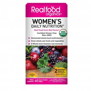Country Life Real Food Organics Women's Daily Nutrition 60 Tablets