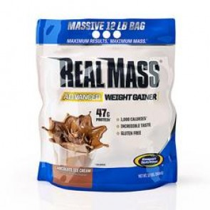 Real Mass Advanced Weight Gainer Chocolate Ice Cream 12lbs