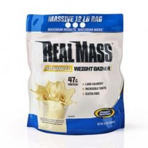Gaspari Nutrition Real Mass Advanced Weight Gainer Vanilla Milkshake 12lbs