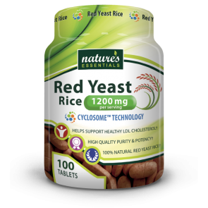 Nature's Essentials Red Yeast Rice 1200mg 100 Tablets