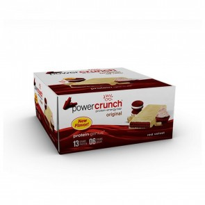 Power Crunch Original Red Velvet 12 Protein Bars