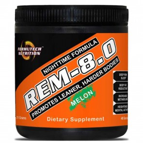 REM-8.0 Nighttime Formula Melon 40 Servings by Formutech Nutrition