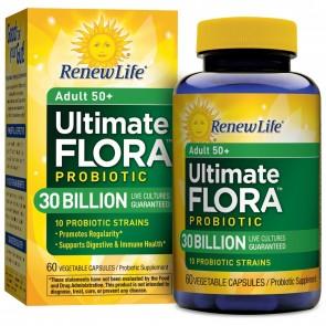 Renew Life Adult 50+ Ultimate Flora Probiotic