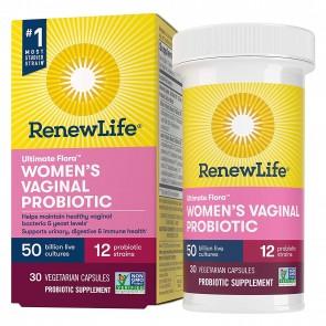 Renew Life Ultimate Flora Vaginal Support 50 Billion 30 Capsules