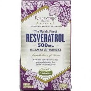 Resveratrol 500 MG, 30 Veggie Caps