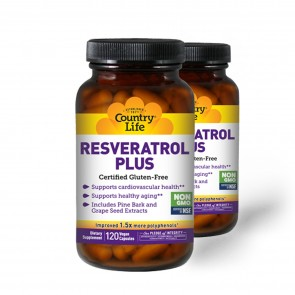 Country Life Resveratrol Plus Antioxidant