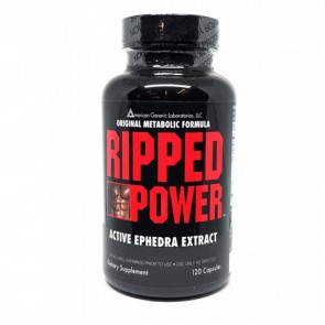 American Generic Labs Ripped Power with Ephedra Extract 120 Capsules