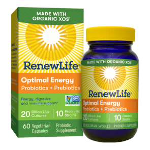 Optimal Energy Probiotics Prebiotics