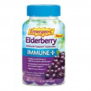 Emergen C Elderberry Immune Plus 45 Gummies