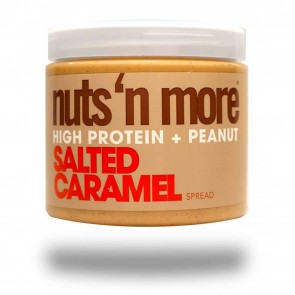 Nuts N More High Protein Peanut Spread Salted Caramel