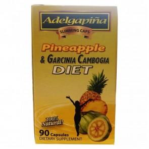 Salud Y Belleza Adelgapina Pineapple & Garcinia Cambogia 20 Tea Bags