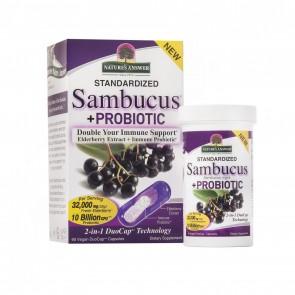 Natures Answer Sambucus plus Probiotic Capsules