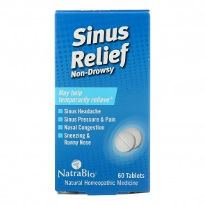 Sinus Relief Non-Drowsy 60 Tablets