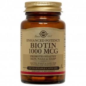 Solgar Biotin 1000 MCG 50 Capsules