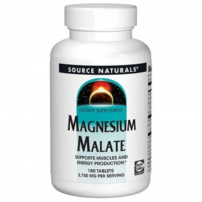 Source Naturals Magnesium Malate 180 Tablets
