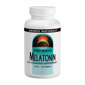 Source Naturals Melatonin 3 mg 120 Tablets