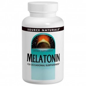 Source Naturals Melatonin Sublingual Orange 2.5 mg 60 Tablets