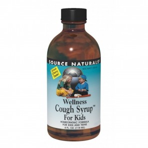 Source Naturals Wellness Cough Syrup For Kids And Teens 4 fl oz