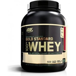 Optimum Nutrition Naturally Flavored Gold Standard 100% Whey Strawberry 5 lbs