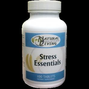 Natural Living Stress Essentials 100 Tablets