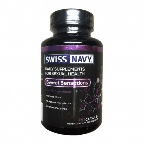 Swiss Navy Sweet Sensations 60 Capsules