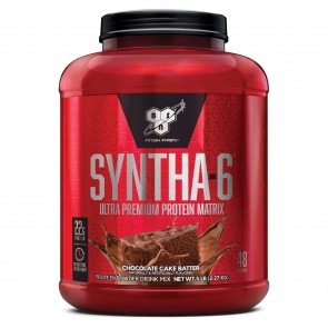 BSN Syntha-6 Ultra-Premium Protein Matrix Chocolate Cake Batter 5 lbs