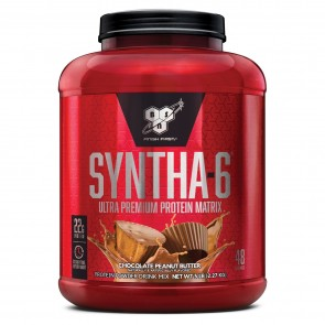 BSN Syntha-6 Ultra-Premium Protein Matrix Chocolate Peanut Butter 5 lbs