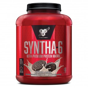BSN Syntha-6 Ultra-Premium Protein Matrix Cookies 'N Cream 5 lbs