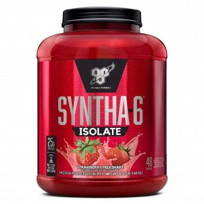 BSN Syntha-6 Isolate Strawberry Milkshake 4.01 lbs