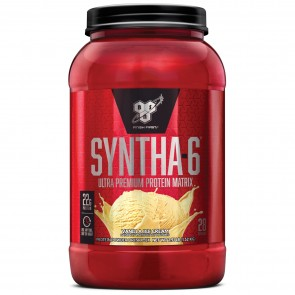 BSN Syntha 6 Ultra Premium Protein Matrix Vanilla Ice Cream 2.91 lbs