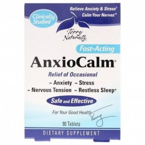 Terry Naturally - Anxiocalm - 4 Tablets