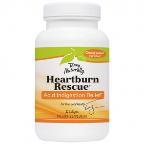 Terry Naturally Advanced Heartburn Rescue 30 Softgels