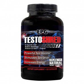Testo Shred Boost 120 capsules by EPG
