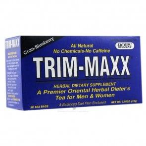 Body Breakthrough Trim-Maxx Men and Women Cran Blueberry 30 Tea Bags