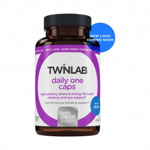 TwinLab Daily One Caps with Iron 60 Capsules