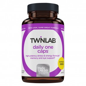 Twinlab Daily One Caps without IRON 180 Capsules