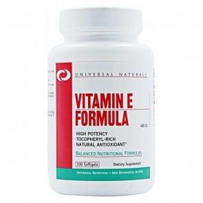 Vitamin E Formula 400 IU 100 Softgels by Universal Nutrition