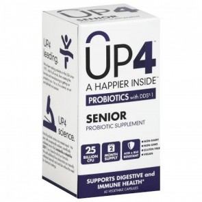 UP4 Probiotics with DDS Adult 50+ 25 billion CFU 60 Vegetable Capsules