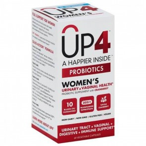 UP4 Probiotics with DDS®-1 Women's 10 billion CFU 60 Vegetable Capsules
