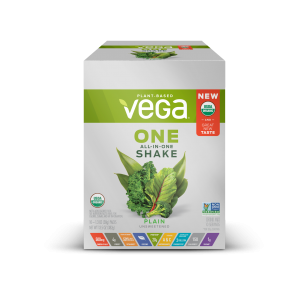 Vega One Plain Unsweetened Packets | Vega One Plain Unsweetened 10 Packets