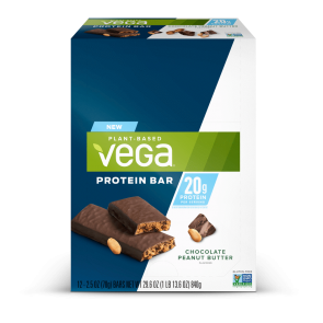 Vega Protein Bar Chocolate Peanut Butter 20g 12 Pack