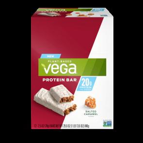 Vega Protein Bar Salted Caramel 20g 12 Pack