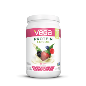 Vega Protein and Greens Berry Medium