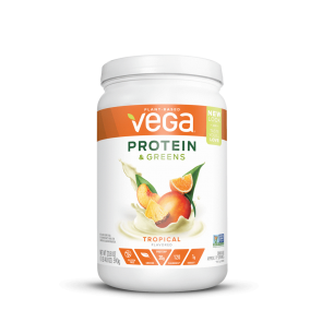 Vega Protein and Greens Tropical Medium