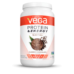 Vega Protein and Energy with 3g MCT Oil Classic Chocolate