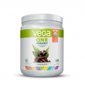 Vega One Plant Based All-In-One Shake Chocolate 13.2 oz 9 Servings
