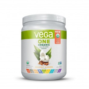 Vega One Plant Based All-In-One Shake Coconut Almond 12.1 oz 9 Servings